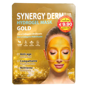 Synergy Derm - Hydrogel Mask Gold - Oro e Collagene idrolizzato - OFFERTA 2x1