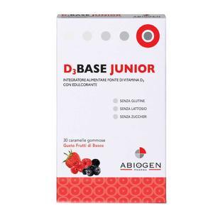 Dibase - D3Base - Caramelle gusto frutti di bosco