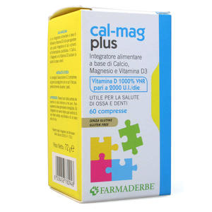 Farmaderbe - Cal-mag Plus