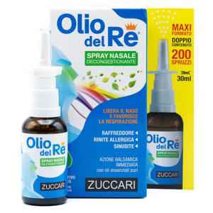 Zuccari - Olio del Re - Spray decongestionante nasale
