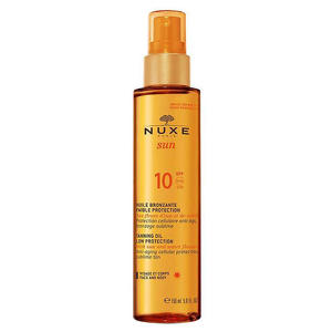 Nuxe - Olio Abbronzante Bassa Protezione - SPF10