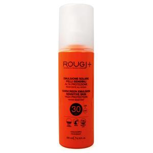 Rougj - Emulsione solare pelli sensibili - Alta Protezione SPF30