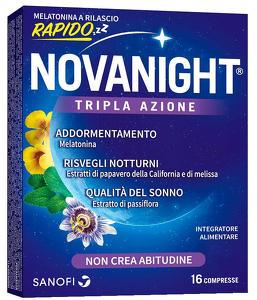 Sanofi - Novanight - 16 Compresse Rilascio Rapido