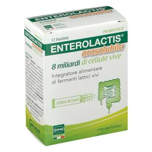 Enterolactis - Orosolubile - 8 miliardi di cellule vive