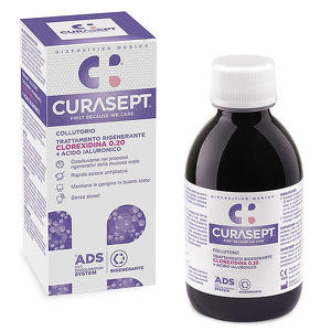 Curasept - Collutorio Rigenerante - Clorexidina 0.20% + Acido Ialuronico