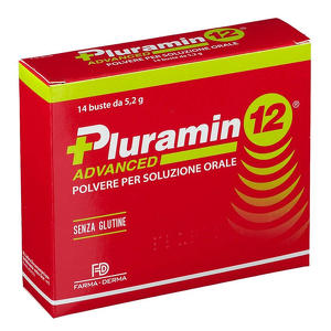 Pluramin - Integratore di Aminoacidi e Vitamina B6 - Bustine