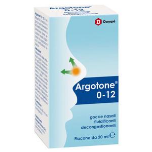 Argotone - 0-12 - Gocce Nasali Fluidificanti