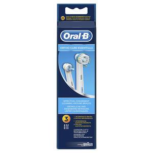 Oral-b - Ortho Care Essential Kit - Testine di Ricambio - 3 Pezzi
