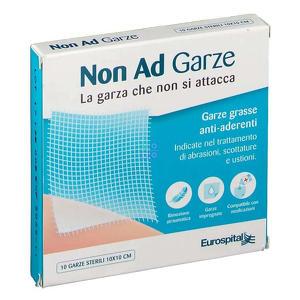 Eurospital - Garza Paraffinata Non Adesiva - 10x10 Cm