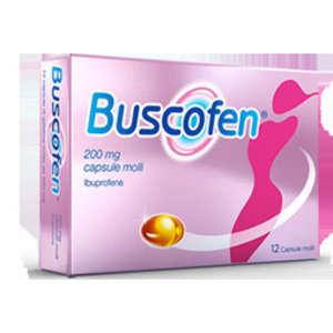 Buscofen - BUSCOFEN*12CPS MOLLI 200MG