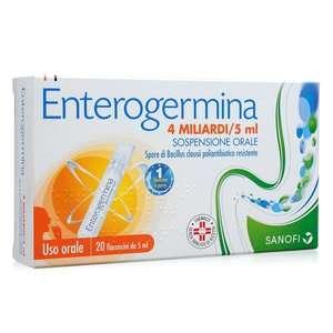 Enterogermina - 4 miliardi - 20 Fiale