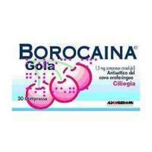 Borocaina - BOROCAINA GOLA*20PAST1,5MG CIL