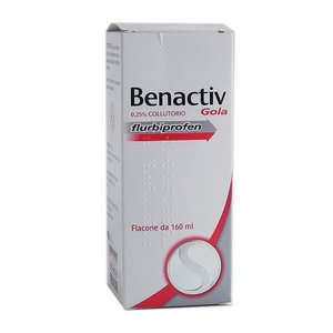 Benactiv - BENACTIV GOLA*COLLUT 160ML 2,5