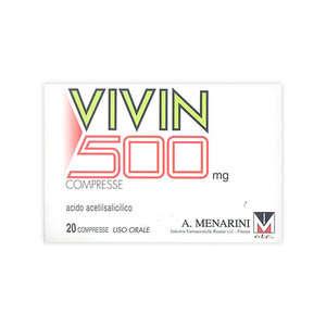 Vivin - VIVIN*20CPR 500MG