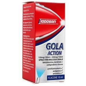 Iodosan - Gola Action - Spray