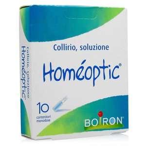Boiron - Homéoptic - Collirio - 10 Flaconi