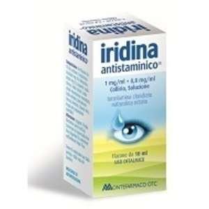 Iridina - IRIDINA ANTISTAMIN*COLL 10+8MG