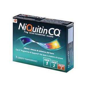 Niquitin - NIQUITIN*7CER TRANSD 7MG/24H