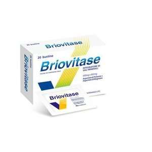 Briovitase - BRIOVITASE*20BUST 450MG+450MG