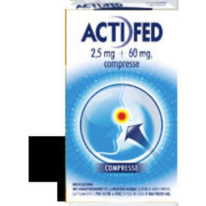 Actifed - ACTIFED*12CPR 2,5MG+60MG