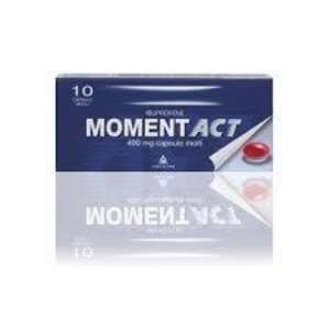 Moment - MOMENTACT*10CPS MOLLI 400MG