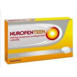 Nurofen - NUROFENTEEN*12CPR ORO LIM200MG