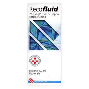 Recofluid - RECOFLUID*SCIR FL 150ML 750MG