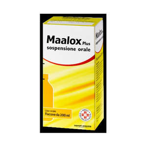Maalox - MAALOX PLUS*OS SOSP 200ML