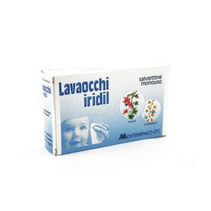 Iridil - Lavaocchi - Salviettine Monouso