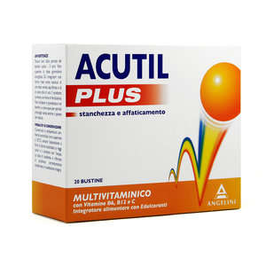 Acutil - Plus - Integratore Alimentare in Bustine