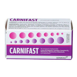 Carnifast - Compresse Orodispersibili
