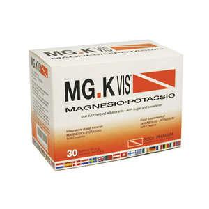 Mg-k Vis - Integratore con Creatina - 30 bustine